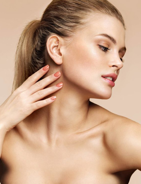 Showing her flawless skin | skin care | Novique Medical Aesthetics | Doylestown, PA